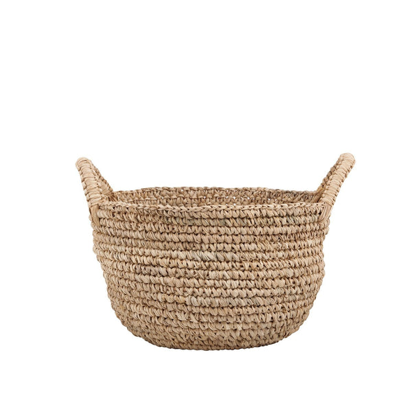 Rose Avenue | Raffia Storage Basket Medium | Shut the Front Door
