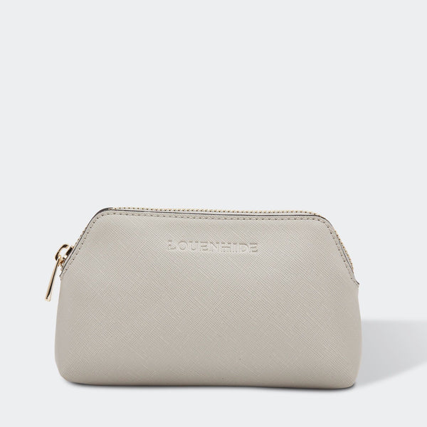 Louenhide | Scout Cosmetic Pouch - Soft Grey | Shut the Front Door