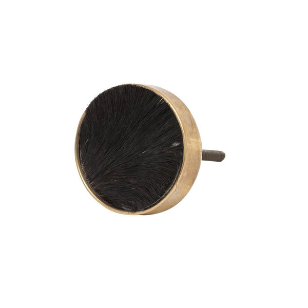 General Eclectic | Hide Knob Black | Shut the Front Door