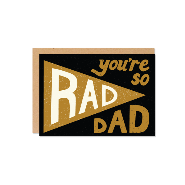The Wild Ones | Rad Dad Flag Card | Shut the Front Door