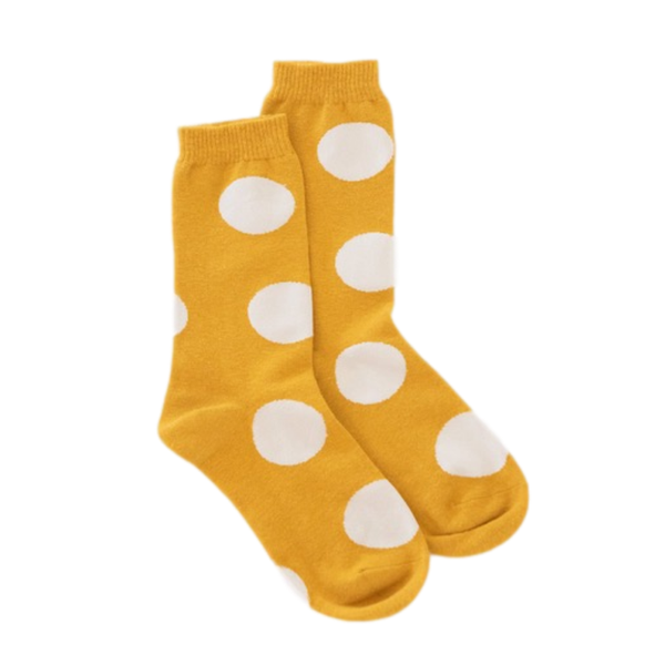 Antler NZ | Spot Sock - Mustard | Shut the Front Door