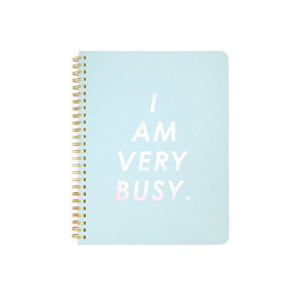 ban.do | I Am Very Busy Mini Notebook *PREORDER* | Shut the Front Door