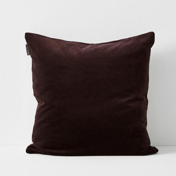 Aura | Aura Lux Velvet Cushion - FIG | Shut the Front Door