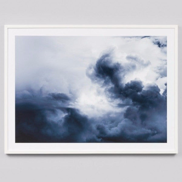 Middle of Nowhere | Framed Print Winter Storm | Shut the Front Door