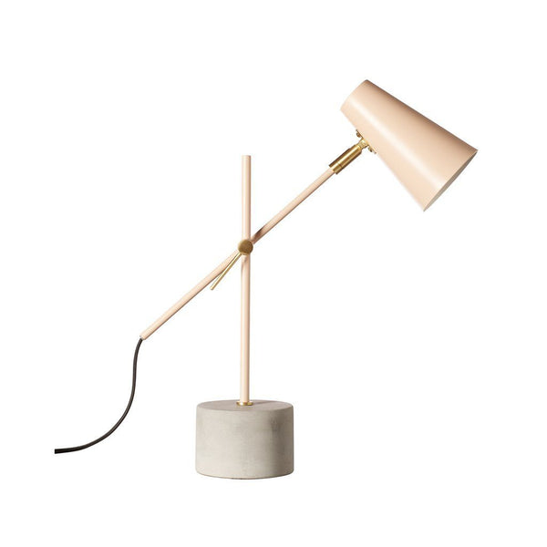 Milk & Sugar | Kenny Table Lamp BLUSH | Shut the Front Door