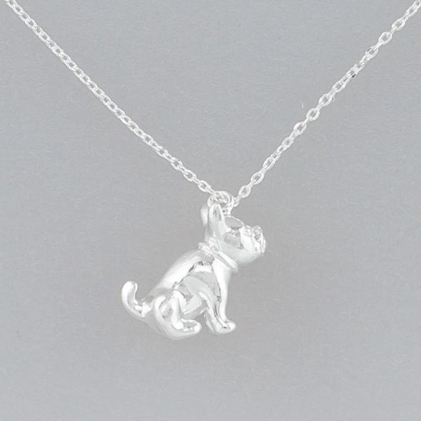 Tiger Tree | Necklace Silver Frenchie | Shut the Front Door