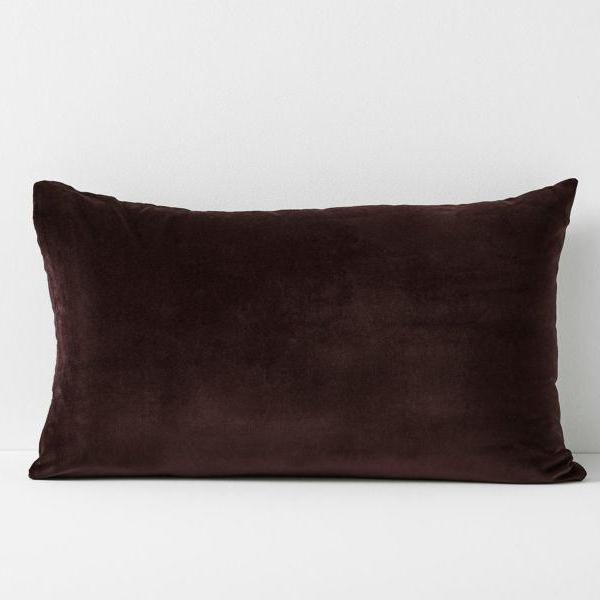 Aura | Aura Lux Velvet Sham Pillowcase - FIG | Shut the Front Door
