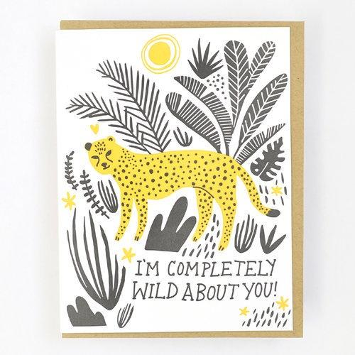 Hello Lucky | Wild About You Card | Shut the Front Door