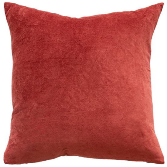 Mulberi | Majestic Velvet Cushion CAYENNE 50cm x 50cm | Shut the Front Door