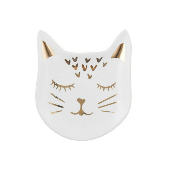 Emporium | Chessy Cat Trinket Plate | Shut the Front Door