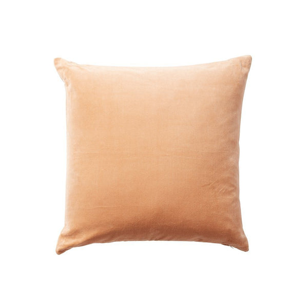 Milk & Sugar | Velvet Cushion 50cm CORAL | Shut the Front Door