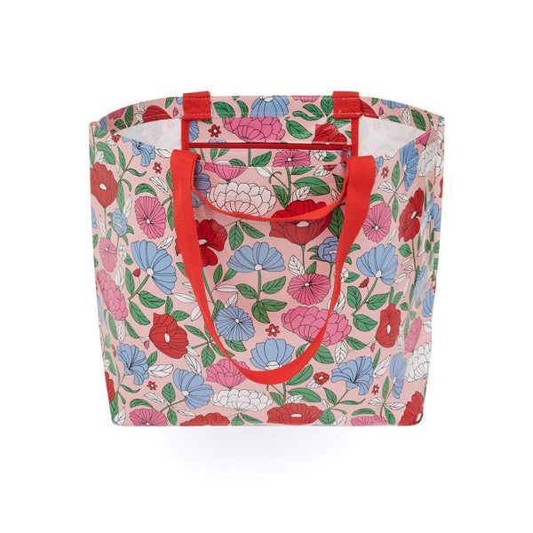 Project Ten | Medium Tote Bag - Flowers | Shut the Front Door