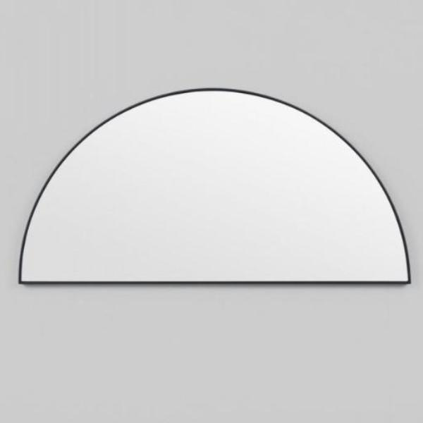 Middle of Nowhere | Bjorn Large Low Arch Mirror - Black 40 x 80 cm | Shut the Front Door