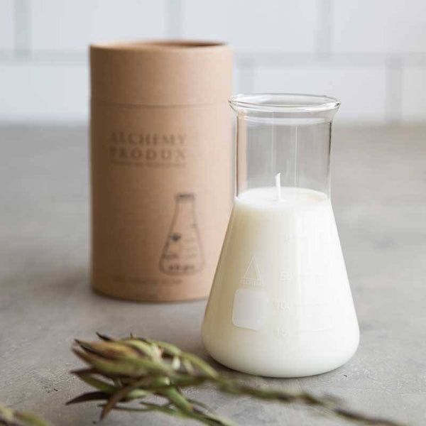 Alchemy Produx | Conical Flask Candle Wild Fig | Shut the Front Door