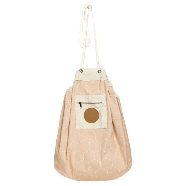 Play Pouch | Honeycomb Play Pouch - Blush | Shut the Front Door