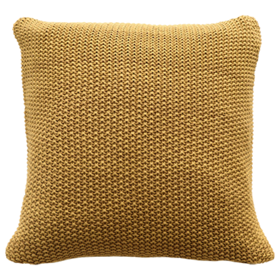 Mulberi | Milford Moss Stitch Cushion HARVEST GOLD 45x45cm | Shut the Front Door