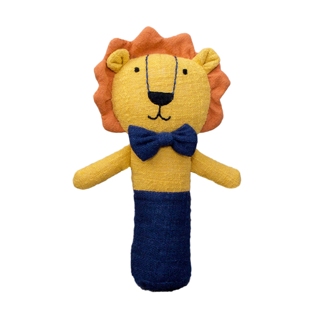Lily and George | Logan the Lion Stick Rattle | Shut the Front Door