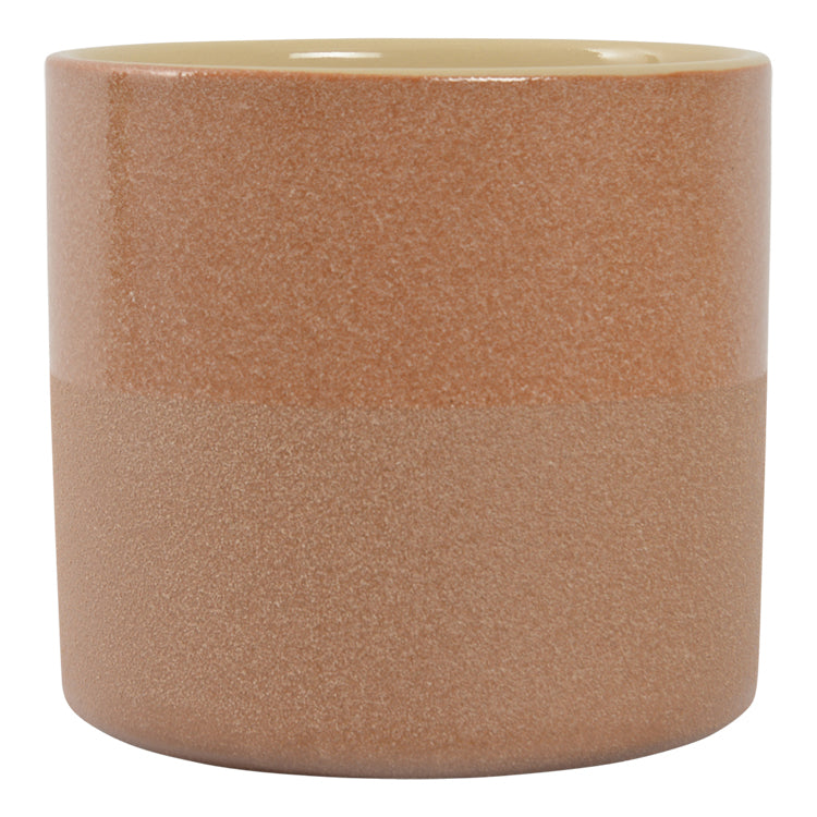 Habitat | Medium Capri Planter Pot - Caramel | Shut the Front Door