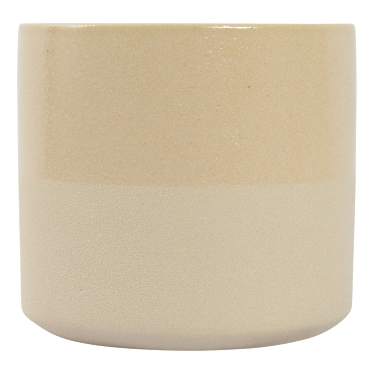 Habitat | Large Capri Planter Pot - Sand | Shut the Front Door