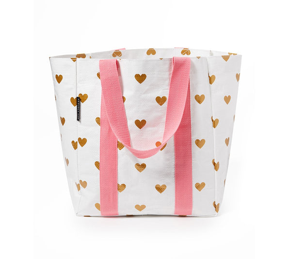 Project Ten | Shopper Bag - Hearts | Shut the Front Door