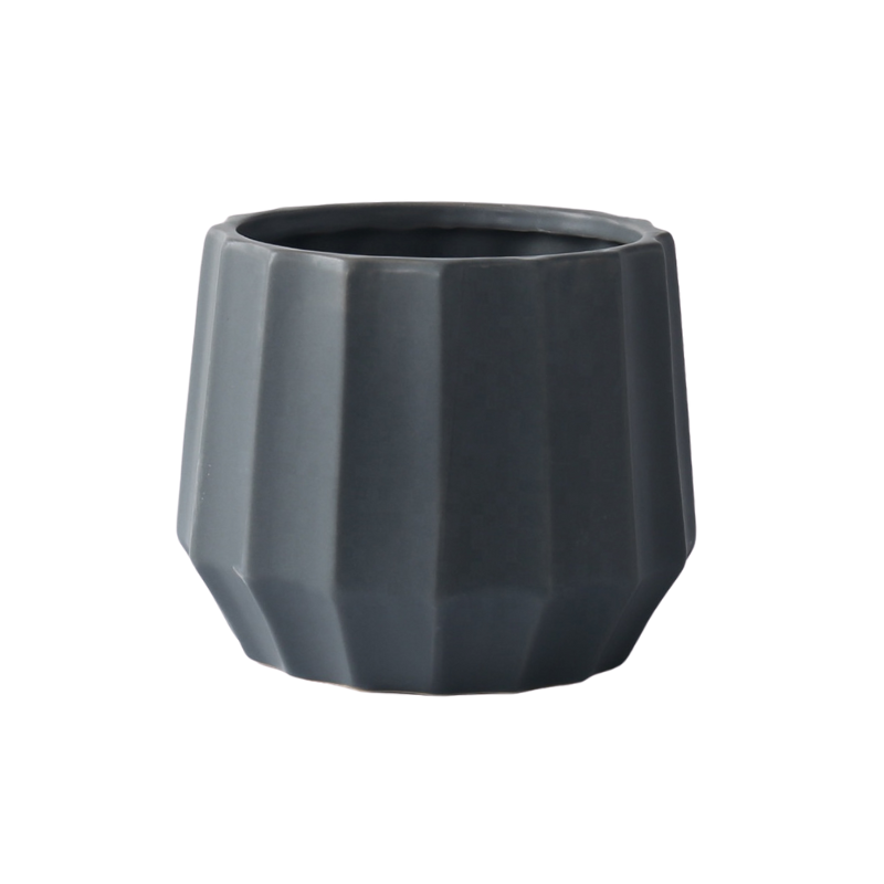 Shut the Front Door | Roman Planter - Black | Shut the Front Door