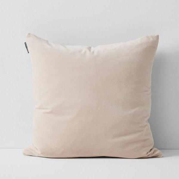 Aura | Aura Lux Velvet Cushion - BLUSH | Shut the Front Door