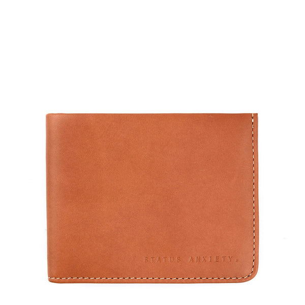 Status Anxiety | Alfred Wallet CAMEL | Shut the Front Door