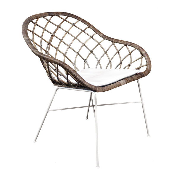 General Eclectic | Abbey Rattan Chair | Shut the Front Door