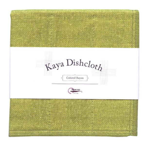 Nawrap | Kaya Dishcloth - Green | Shut the Front Door