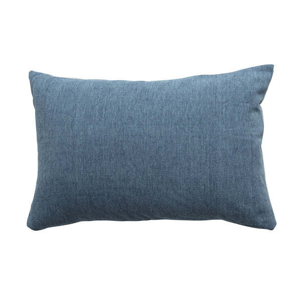 Milk & Sugar | Cushion Woven CADET BLUE | Shut the Front Door