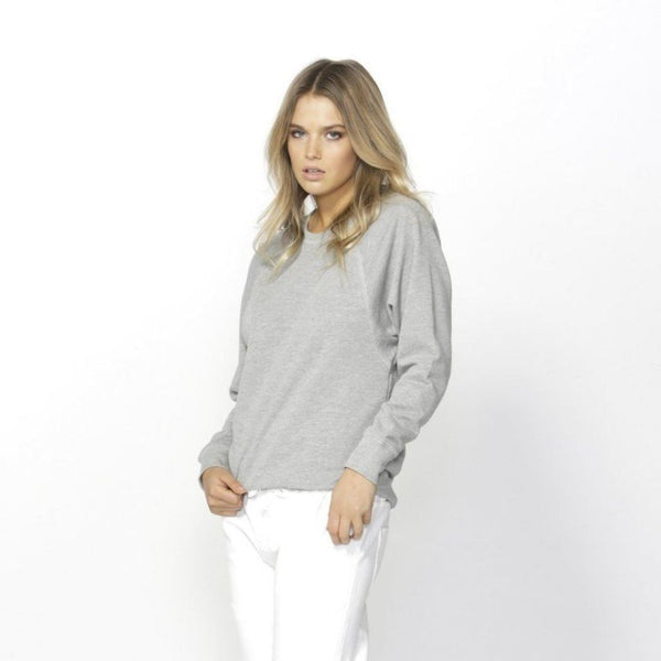 Betty Basics | Ryker Sweater - Silver Marle | Shut the Front Door