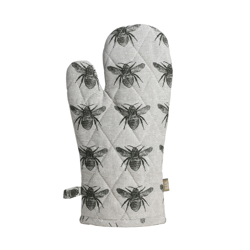 Raine & Humble | Honey Bee Oven Glove - Olive Green | Shut the Front Door