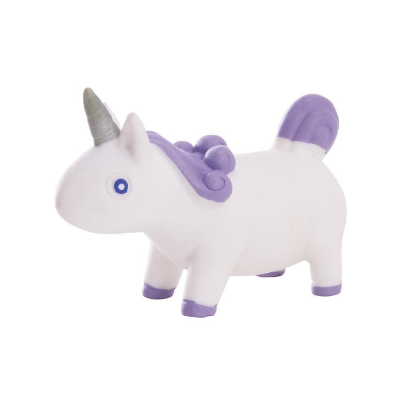 IS Gifts | Stretchy Unicorn - White/Purple | Shut the Front Door