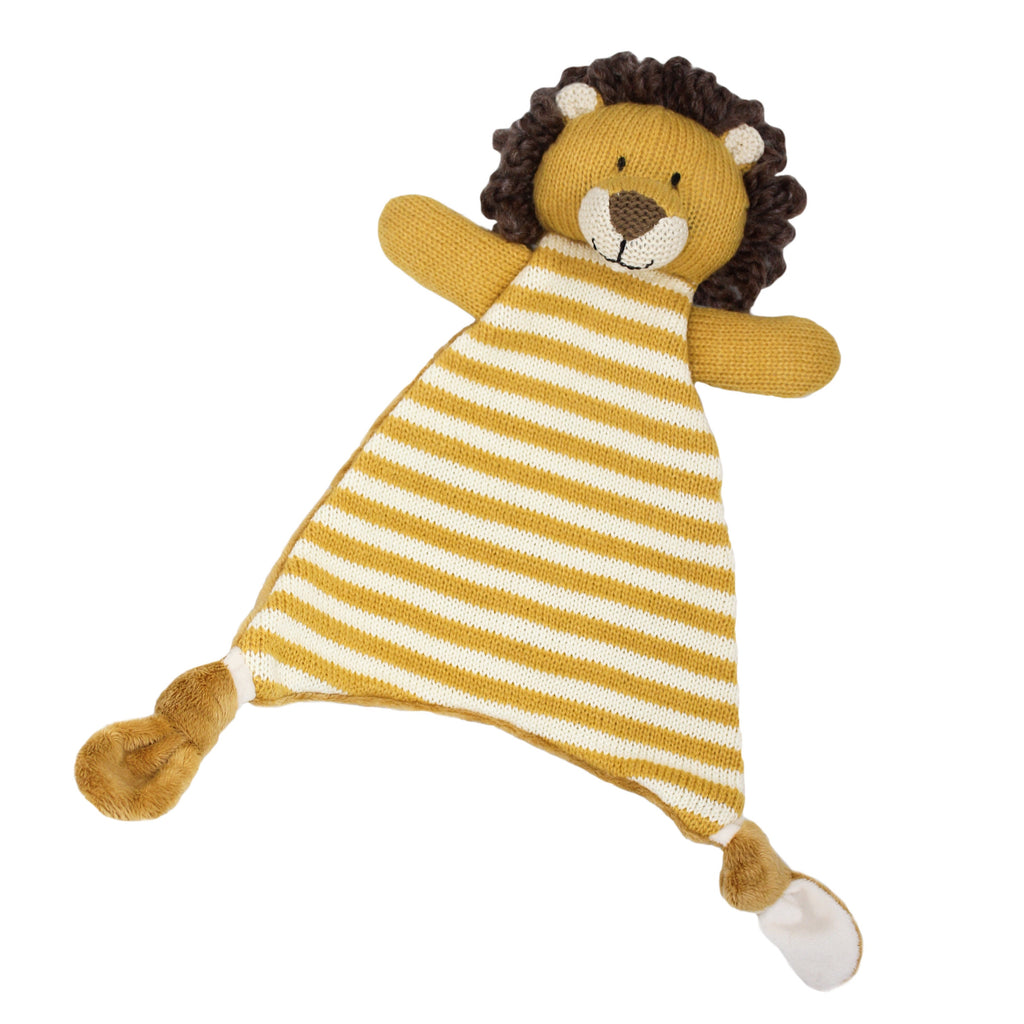 Lily and George | Arthur Stripey Lion Comforter | Shut the Front Door