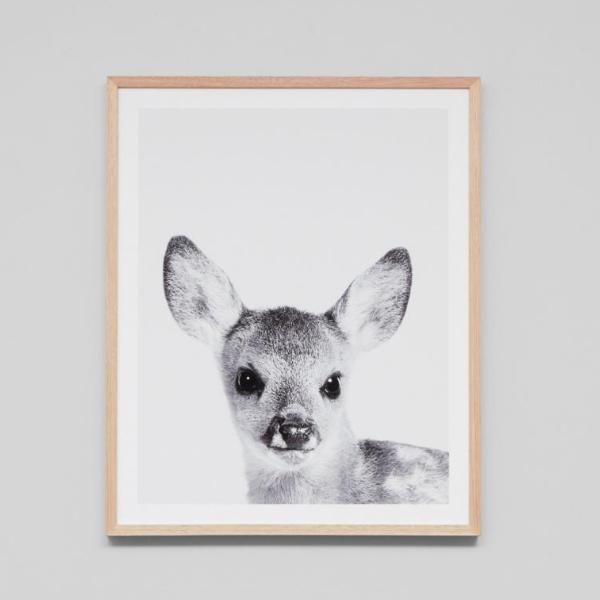 Middle of Nowhere | Framed Print Loveable Fawn | Shut the Front Door