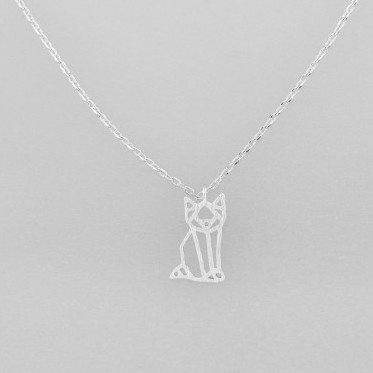 Tiger Tree | Necklace Silver Kitty Cat | Shut the Front Door