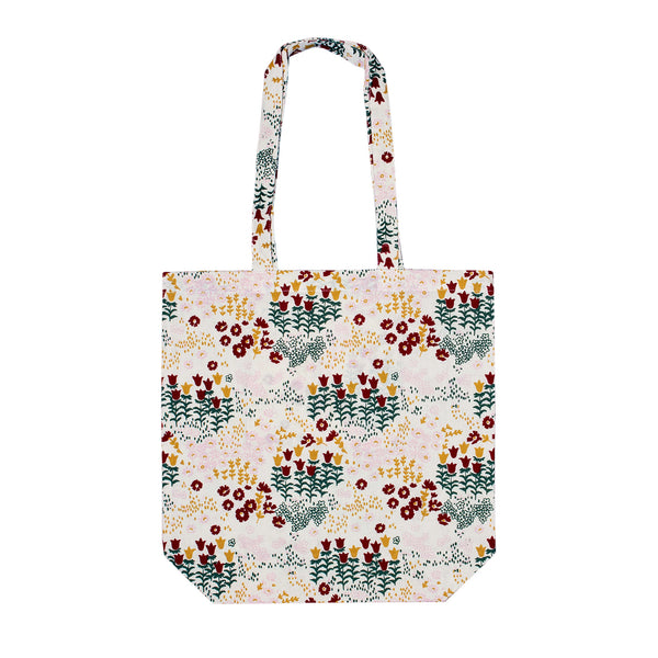 Cotton Shopping Bag - Floral