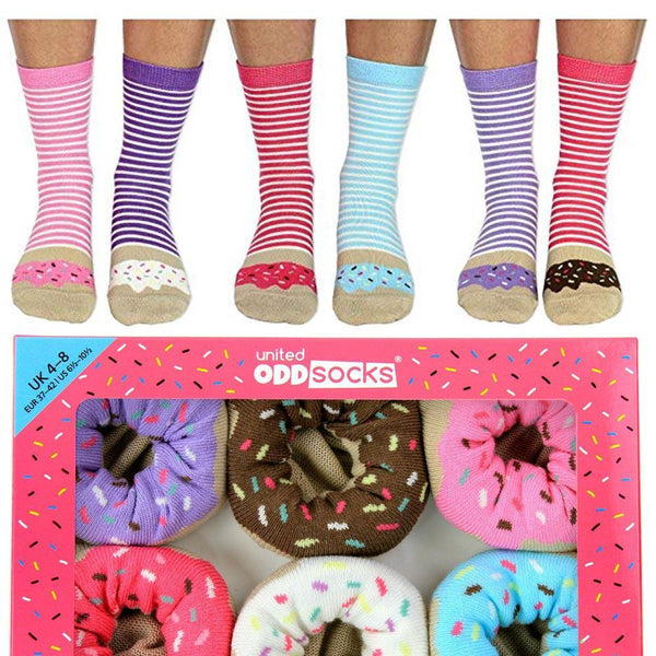 United Odd Socks | Odd Socks Ladies - Donuts | Shut the Front Door