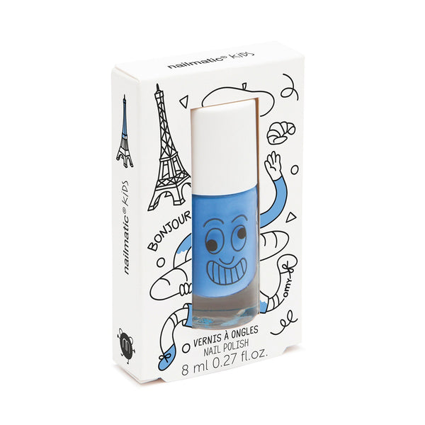 Nailmatic | Kids Nail Polish - Blue | Shut the Front Door