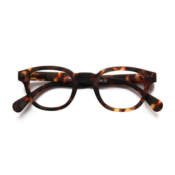 Izipizi | Reading Glasses Collection C Tortoise +1 | Shut the Front Door