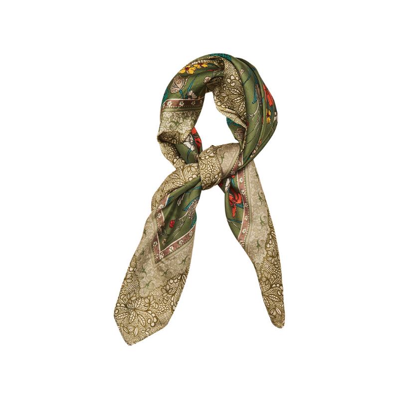 eb & ive | Wanderlust Headscarf - Olive | Shut the Front Door