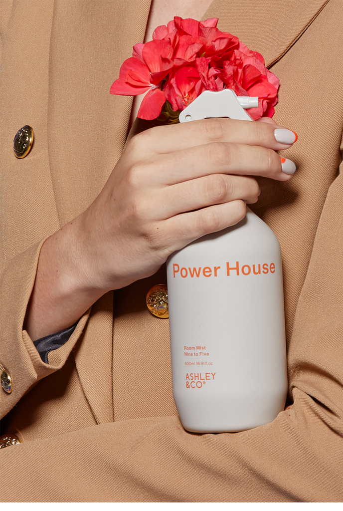 Ashley & Co | Power House Room Mist - Nine to Five 500mls | Shut the Front Door