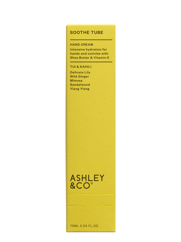 Ashley & Co | Soothe Tube Intensive Hand Hydration - Tui & Kahili | Shut the Front Door