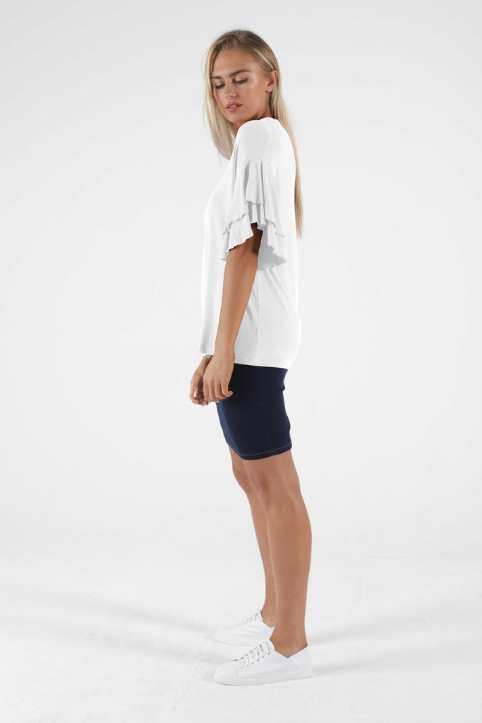 Betty Basics | Ripon Top - White | Shut the Front Door