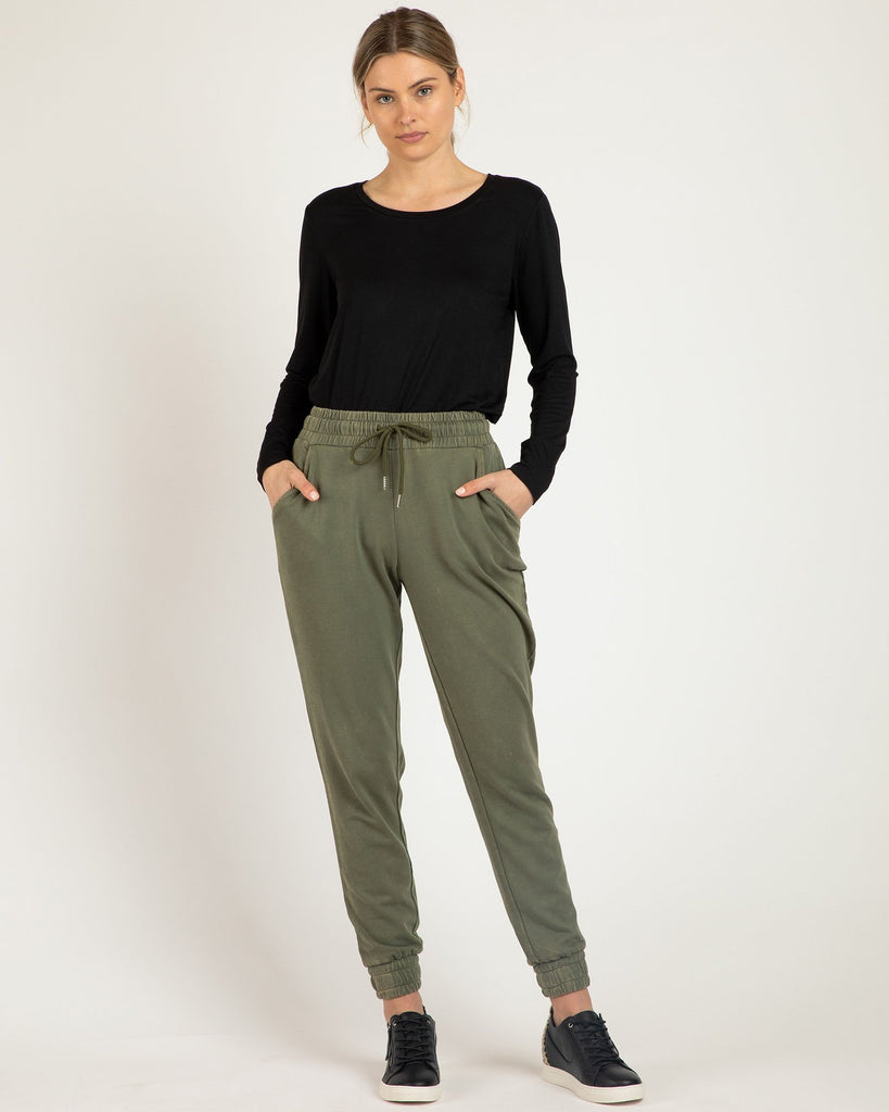 Betty Basics | Coco Pant - Fern | Shut the Front Door