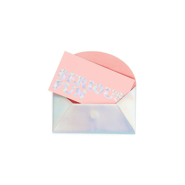 ban.do | Holographic Business Card Holder | Shut the Front Door