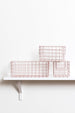 Mustard | Basket Large - Blush | Shut the Front Door