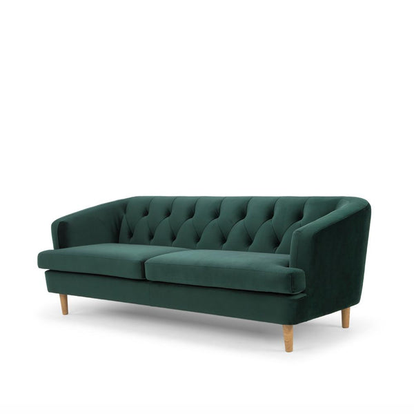 Me & My Trend | Baxter 3 Seat Velvet Sofa Emerald Green *PREORDER* | Shut the Front Door