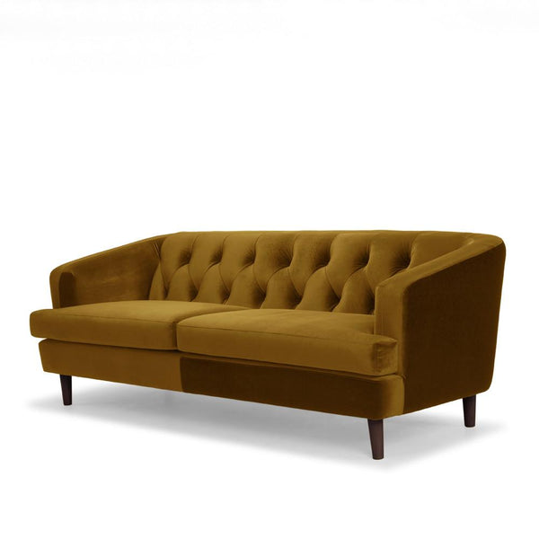Me & My Trend | Baxter 3 Seater Velvet Sofa Deep Mustard * PREORDER* | Shut the Front Door