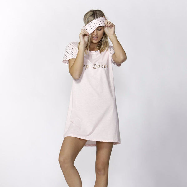 Betty Basics | Nap Queen Nightie Set Peony | Shut the Front Door